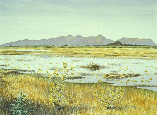 Alaganik pond