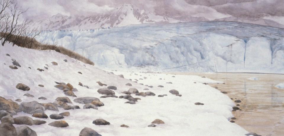 Childs Glacier overcast