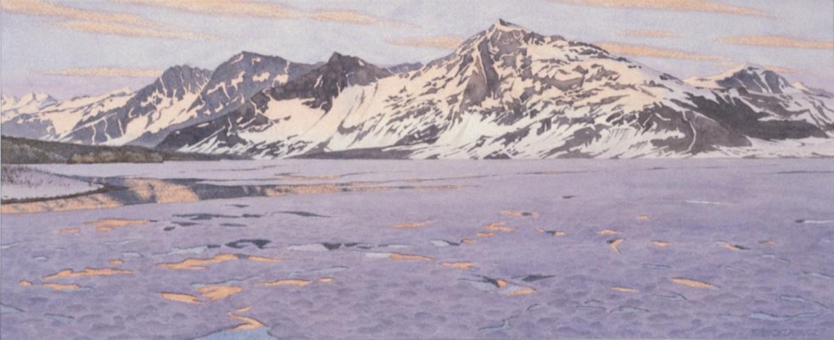 Miles Lake sunset