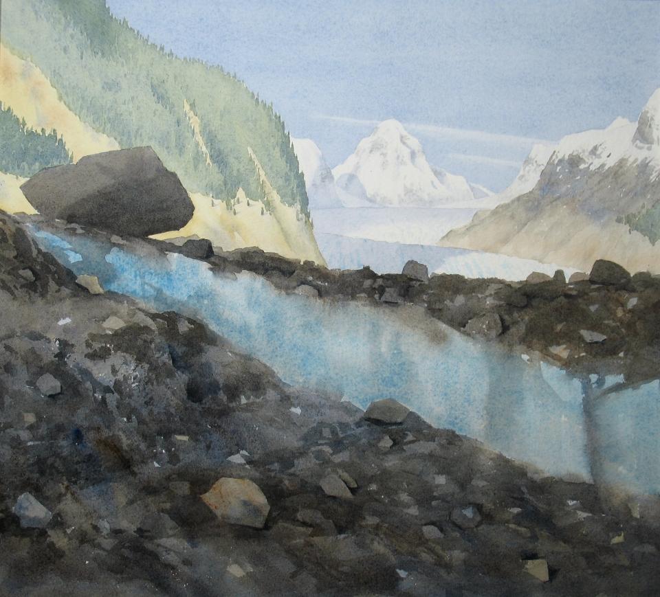 Sheridan Glacier ice lens