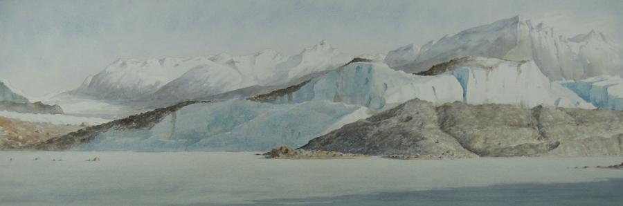 Sheridan Glacier moraine