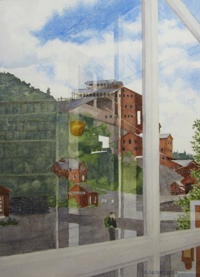 Kennecott General Store Reflections