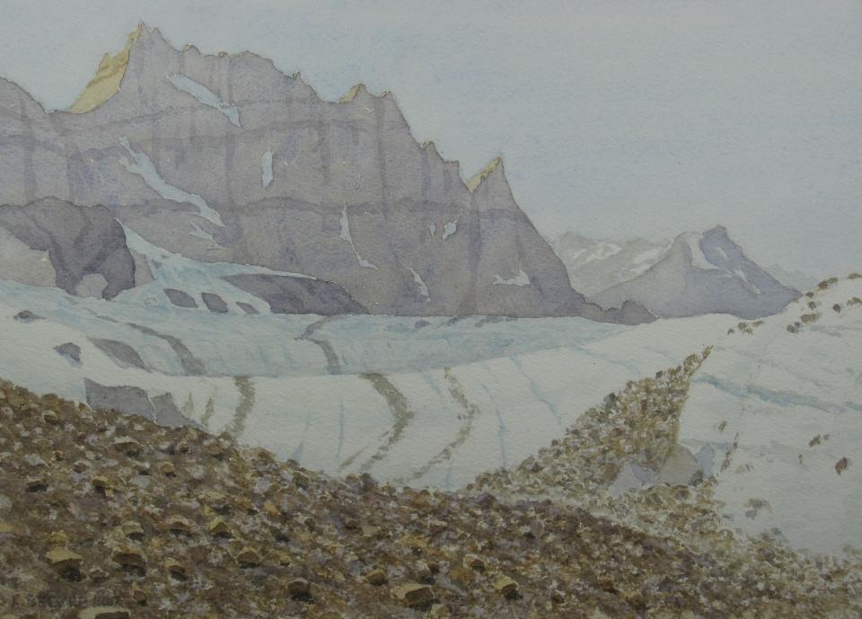 Iceberg Lake valley