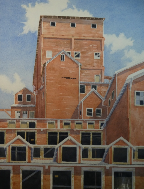 "Kennecott Mill Windows - 17.5"" x 13.75"" - $800"
